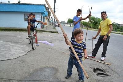 En la calle Guayaquil se quejan por horario de recolección de basura