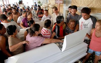 Ciudadanos piden justicia por muerte de cinco niños