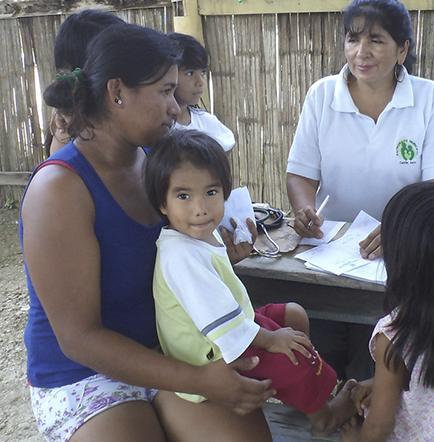 Atención en salud para dos comunidades