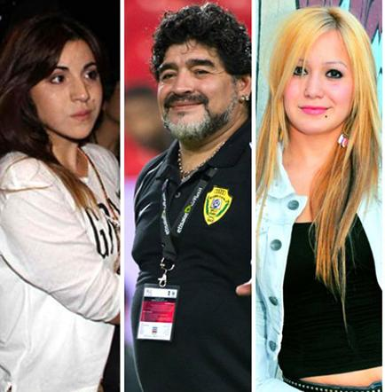 Nuevo escándalo en la familia Maradona
