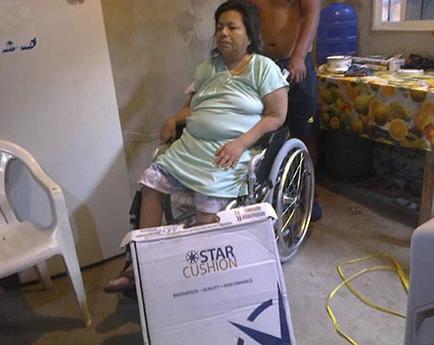 Siete discapacitados reciben ayudas técnicas