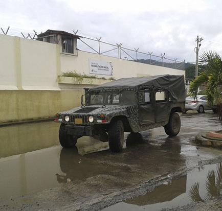 Un prisionero se escapa de la cárcel de Bahía