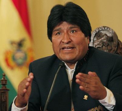 Evo Morales cree que el título de primera dama 'es un insulto para la mujer'