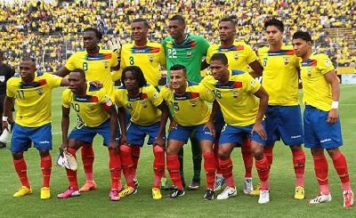 Ecuador en el puesto 10 de la FIFA