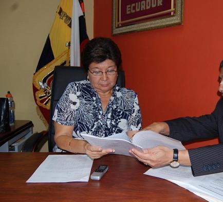 Juez deja sin efecto remoción de la Alcaldesa de Jaramijó