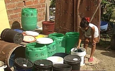 Barrios de Manta sin agua potable