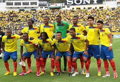 Ecuador, en el 'Top-10' del ránking FIFA