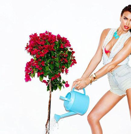 Irina Shayk muestra una imagen casera en fotos