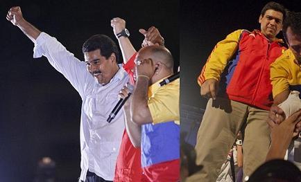 Maduro y Capriles cierran campaña en Venezuela marcada por recuerdo de Chávez