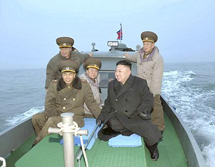 Analizan a Kim Jong-Un, líder de Corea del Norte