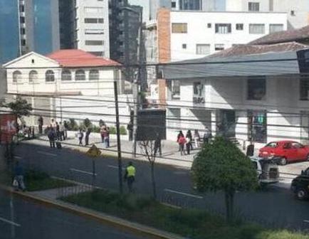 Falsa alarma de bomba en Embajada de Israel