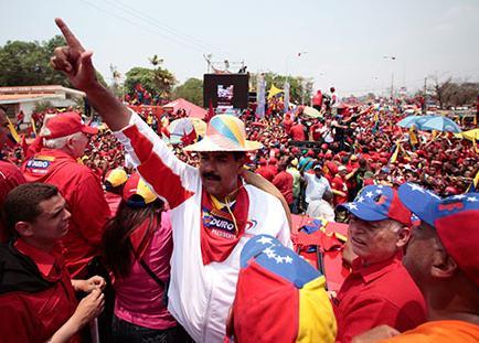 La campaña en Venezuela terminó con fiestas en las calles
