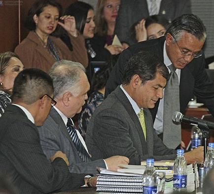 Acusados faltan a la audiencia de juzgamiento