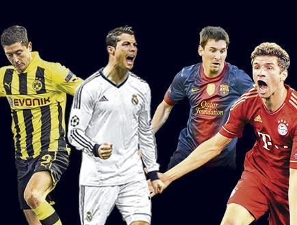 Alemanes y españoles definen la Champions
