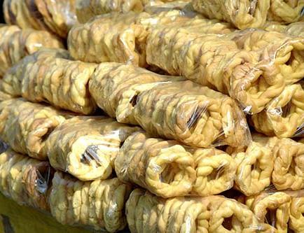 Las rosquitas de harina son los típicos bocaditos en los velorios