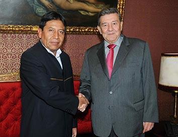 Perú no piensa apoyar a Bolivia