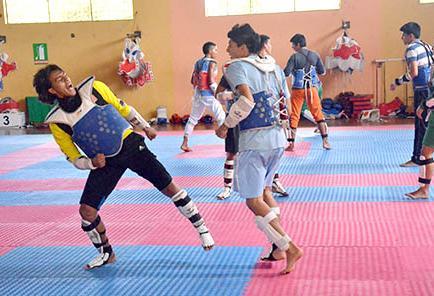 Taekwondo  en manabí