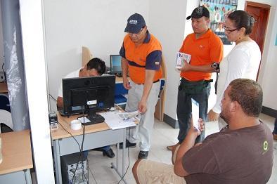 Difunden mapa de inundación en caso de tsunami en Jaramijó