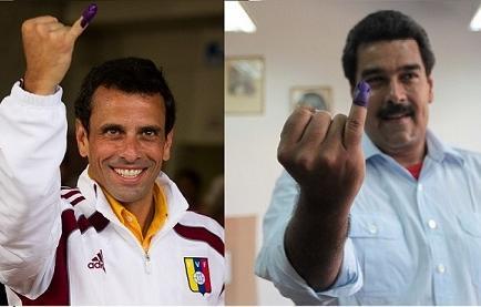 Se cierran las mesas electorales en venezuela