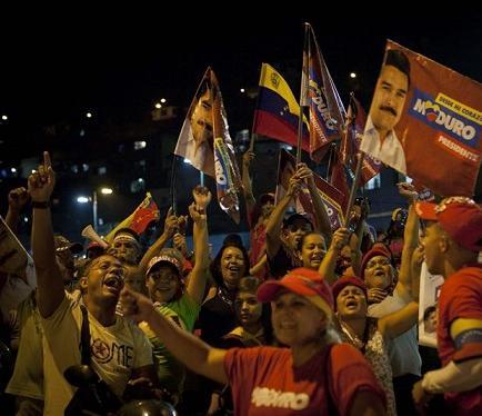 Tensión en Venezuela ante la espera de resultados electorales