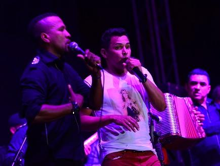 Jorge Celedón hizo cantar a los manabitas