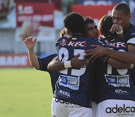 Ind. del Valle venció 2-1 a Dep. Quevedo