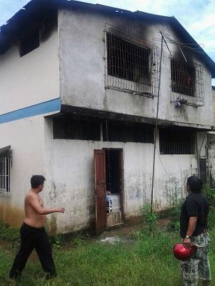 Interno habría provocado incendio en una Clínica de Rehabilitación