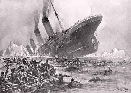 Recuerdan 101 años del hundimientos del Titanic