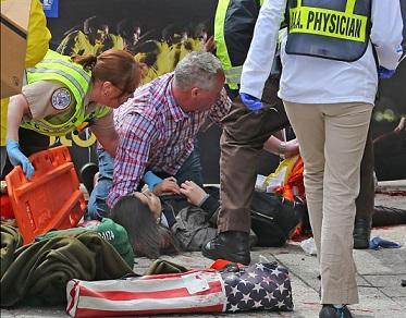 Explosión en la maratón de Boston deja numerosas víctimas