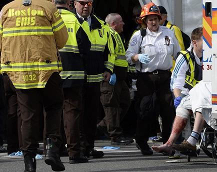 Estallan dos bombas en presunto ataque terrorista en Boston