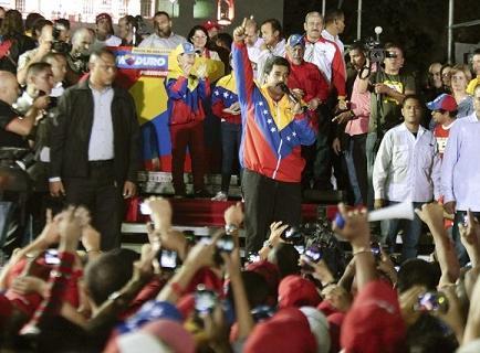 Maduro será proclamado ganador de las elecciones esta tarde