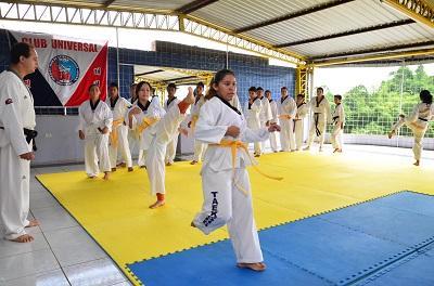 Pasión por el  taekwondo