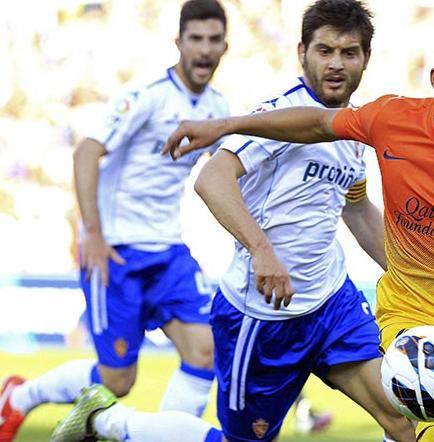 Barça sigue encaminado y golea al Real Zaragoza