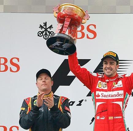 Fernando Alonso conquista china