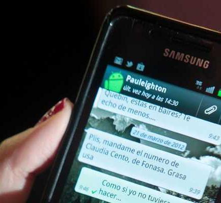 WhatsApp, más popular que Twitter