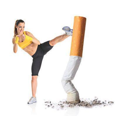 Haga ejercicios para dejar de fumar