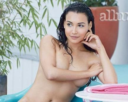La actriz Naya Rivera posa desnuda para una revista