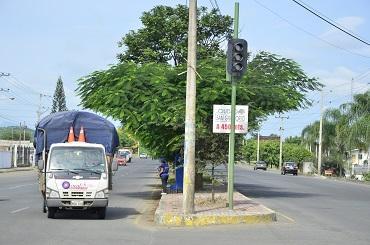 No hay repuestos para reparar semáforos