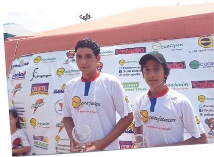 Mantense fue campeón en tenis