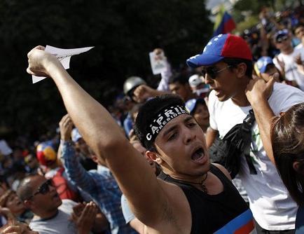 La tensión aumenta en Venezuela tras proclamación de Maduro