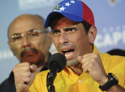 Piden una investigación penal sobre Capriles