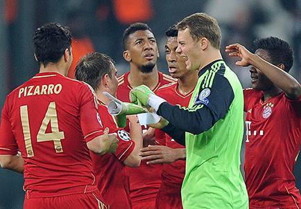 B. Múnich busca pasar a la final en Alemania
