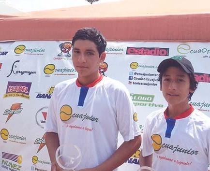 EL Tenista PALADINES  CAMPEÓN EN ECUAJUNIOR