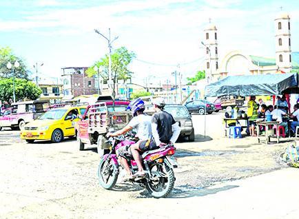 En Picoazá se asientan  las canteras, pero calles están en mal estado