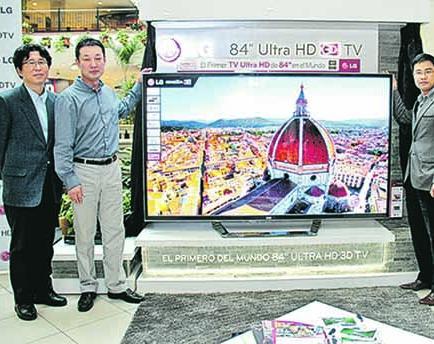LG lanza televisor con tecnología HD en el país