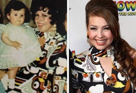 Thalía usa la ropa de su mamá para recordarla