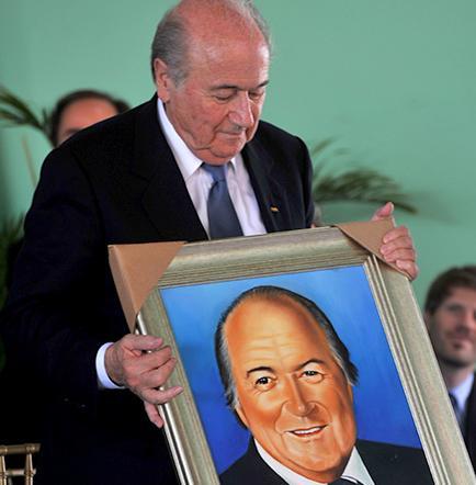 Blatter se reúne con dirigentes