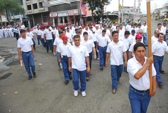 Trabajadores preparan marcha para el 1 de Mayo