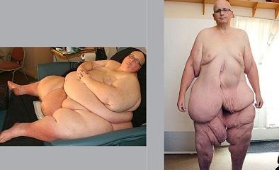 Muchachos gordos lisos desnudos