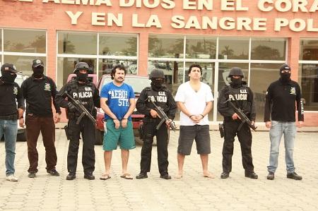 40 Agentes especiales participaron en la recaptura de 'Fito' y 'Javi'